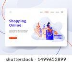 landing page shopping online...