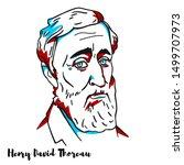 henry david thoreau engraved...