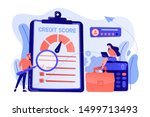 tiny people analysts evaluating ... | Shutterstock .eps vector #1499713493