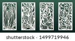 laser cutting templates with... | Shutterstock .eps vector #1499719946