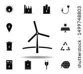 windmill icon . set of...