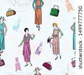 Vintage Paris Ladies Fashion...