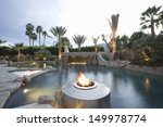 view of a swimming pool with...   Shutterstock . vector #149978774