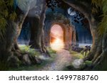 Archway In An Enchanted Fairy...
