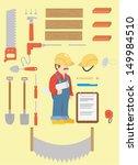 building instruments | Shutterstock .eps vector #149984510
