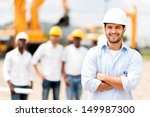 male architect at a... | Shutterstock . vector #149987300
