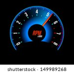 tachometer. vector illustration   Shutterstock .eps vector #149989268