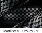 white and black carbon fiber...   Shutterstock . vector #1499899379