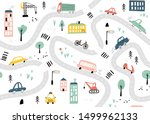 seamless pattern with hand... | Shutterstock .eps vector #1499962133