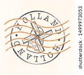 Holland Stamp Postal. Windmill...