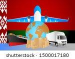 belarus logistics concept...   Shutterstock .eps vector #1500017180