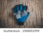 Grooming Glove Use To Cleaning...