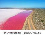 Hutt Lagoon Is Between...
