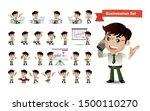 business people group avatars...   Shutterstock .eps vector #1500110270