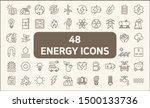 Set Of 48 Energy And Ecology...
