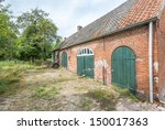 Farmyard Of An Old And...