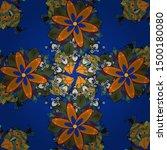square invite template. vector... | Shutterstock .eps vector #1500180080