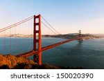 The Golden Gate Bridge And San...