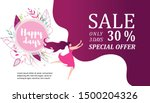 sale only three days  special... | Shutterstock .eps vector #1500204326