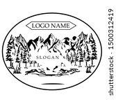 adventure logos are suitable... | Shutterstock .eps vector #1500312419