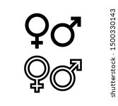 Gender Icon. Man And Woman Icon ...