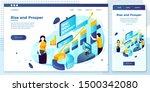 vector cross platform... | Shutterstock .eps vector #1500342080