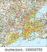 New York  New York Area Map