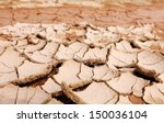 Surface Of Cracking Dried Brow...