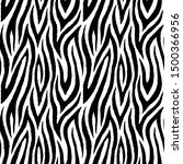 abstract zebra fur seamless...   Shutterstock .eps vector #1500366956