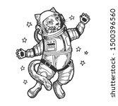 Cat Astronaut Spaceman In Space ...