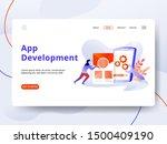 landing page app development...