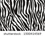 zebra print  animal skin  tiger ... | Shutterstock .eps vector #1500414569