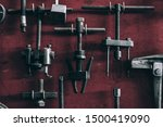 the vintage a craftsman tool   Shutterstock . vector #1500419090