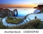 Durdle Door Sunset Dorset...