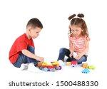 Cute Little Children Playing...