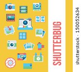 photography icons  | Shutterstock .eps vector #150052634