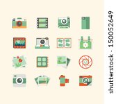 photography icons    Shutterstock .eps vector #150052649