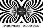 black and white abstract... | Shutterstock .eps vector #1500557039