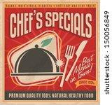 retro poster template for best... | Shutterstock .eps vector #150056849