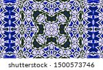 abstract kaleidoscope...   Shutterstock . vector #1500573746