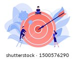 businessmen working and woman...   Shutterstock .eps vector #1500576290