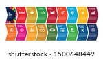 sustainable development goals   ... | Shutterstock .eps vector #1500648449