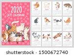 Cat Calendar. 2020 Year Planne...