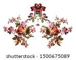 vintage  pattern  vector  old... | Shutterstock .eps vector #1500675089