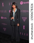 Small photo of NEW YORK, NEW YORK - SEPTEMBER 05: Jameela Jamil attends ELLE, Women in Music presented by Spotify and hosted by Nina Garcia, Jameela Jamil & E! Entertainment on September 05, 2019 in New York City.