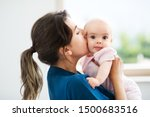babyhood  motherhood and people ... | Shutterstock . vector #1500683516
