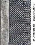abstract texture grunge surface ... | Shutterstock . vector #1500692543