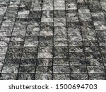 bricks block abstract texture... | Shutterstock . vector #1500694703
