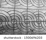 curves line pattern abstract... | Shutterstock . vector #1500696203