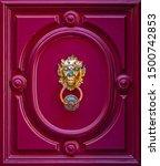 A Beautiful Ornate Door Knocke...